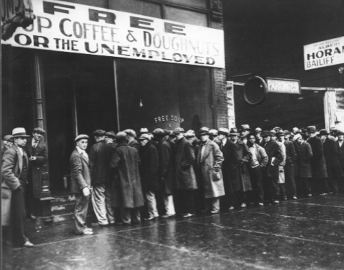 Al Capone Operated Soup Kitchen Chicago 1933